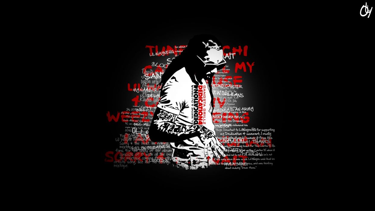 lil wayne hip hop rap wallpaper