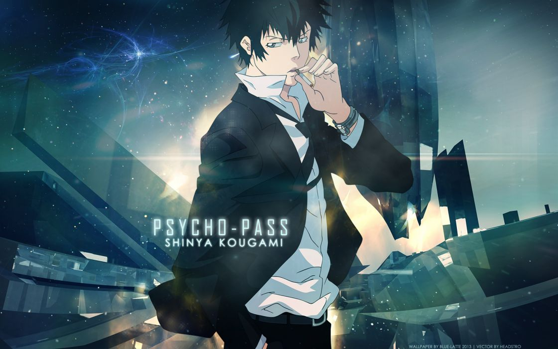PSYCHO-PASS Series Shinya Kougami PSYCHO PASS wallpaper