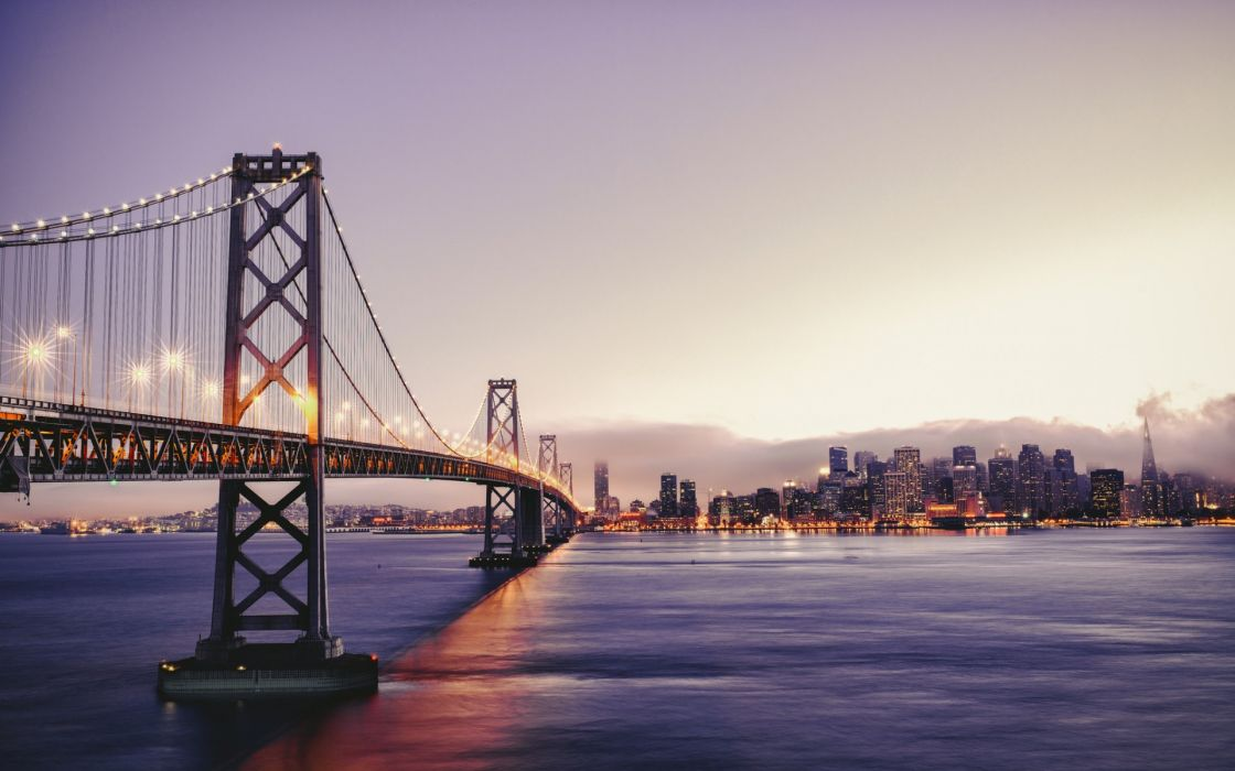 San Francisco golden gate bridge bridges roads road city cities wallpaper