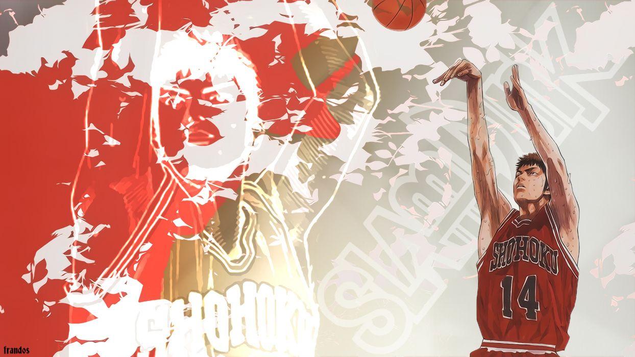 Slam Dunk Series Hisashi Mitsui wallpaper
