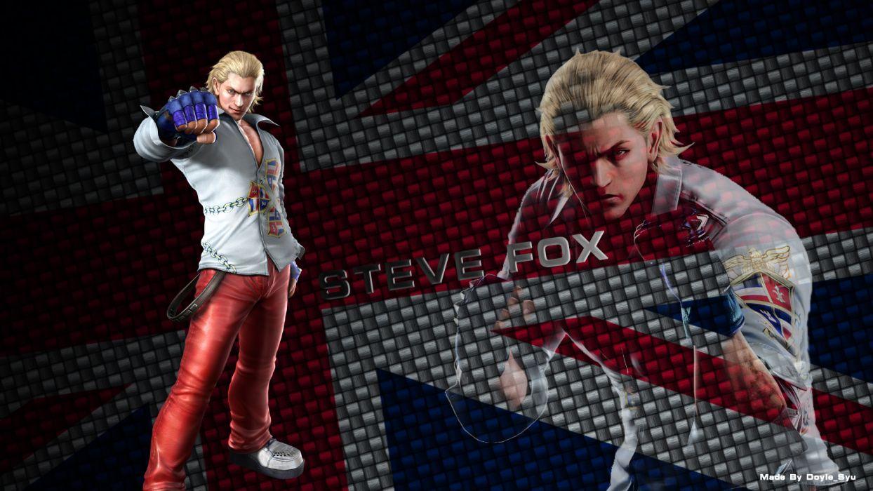 Tekken Game Steve Fox wallpaper