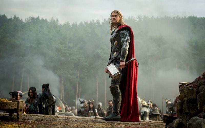 Thor Hammer Mjolnir Chris Hemsworth The Dark World wallpaper