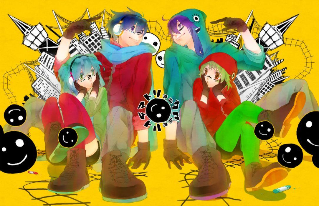 vocaloid gumi hatsune miku kaito kamui gakupo matryoshka wallpaper
