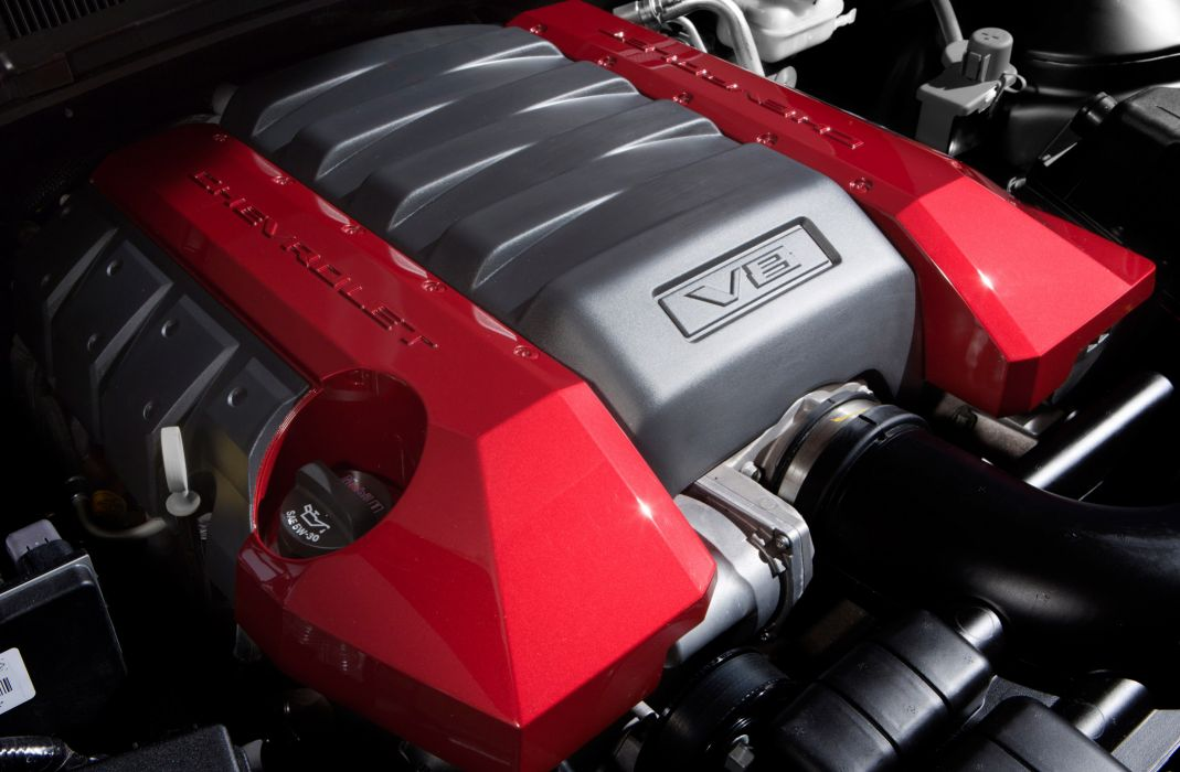 2010 Chevrolet Camaro muscle engine engines wallpaper