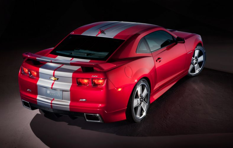 2010 Chevrolet Camaro muscle wallpaper