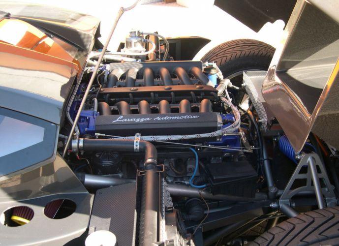 2010 Lavazza GTX-R supercar supercars engine engines wallpaper