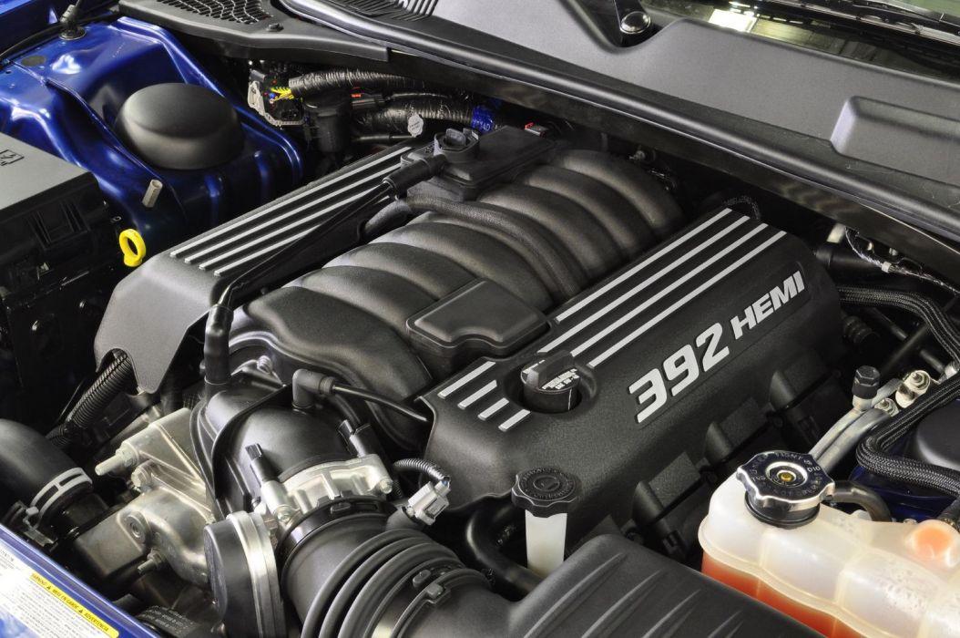2011 Dodge Challenger SRT8 392 muscle engine engines wallpaper