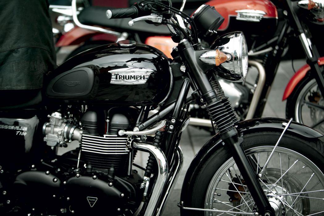 2011 Triumph Bonneville   t wallpaper