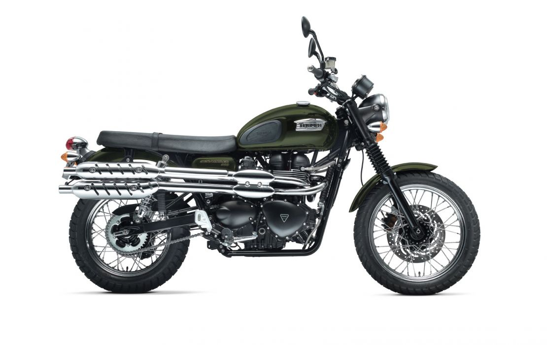 2011 Triumph Scrambler wallpaper