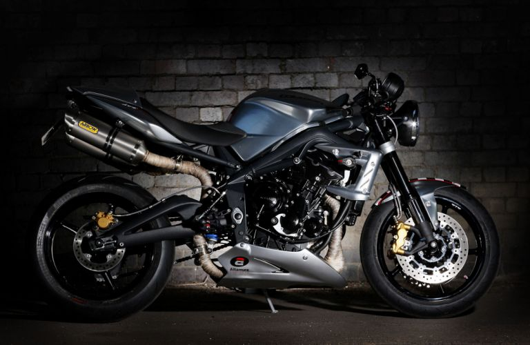 2012 Triumph Street Triple Ace 675CR Special wallpaper