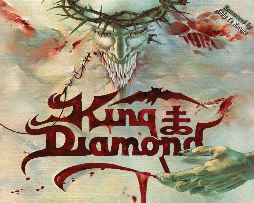 KING DIAMOND heavy metal dark cover  t wallpaper