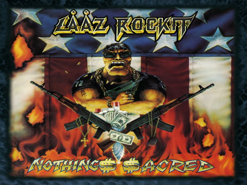 LAAZ ROCKIT thrash heavy metal       d wallpaper