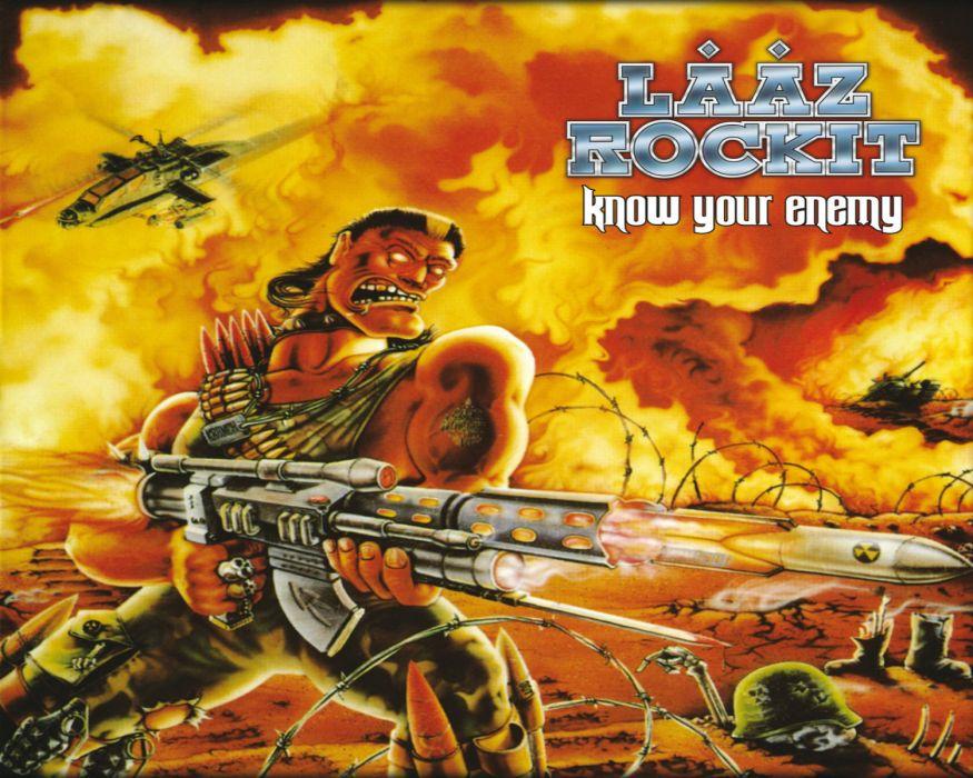 LAAZ ROCKIT thrash heavy metal a wallpaper