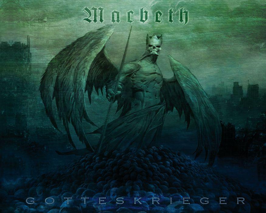 MACBETH thrash metal heavy wallpaper