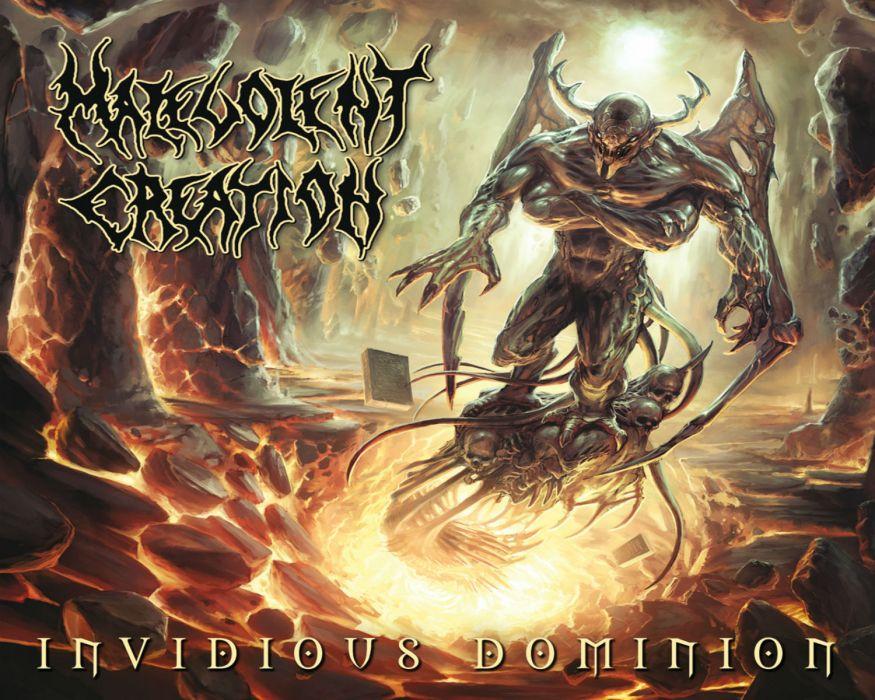 MALEVOLENT CREATION death metal heavy        d wallpaper