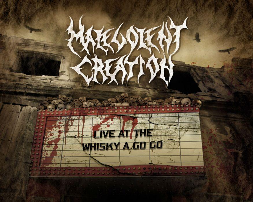 MALEVOLENT CREATION death metal heavy     s wallpaper