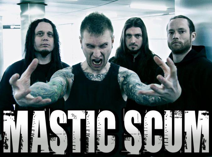 MASTIC SCUM heavy metal wallpaper