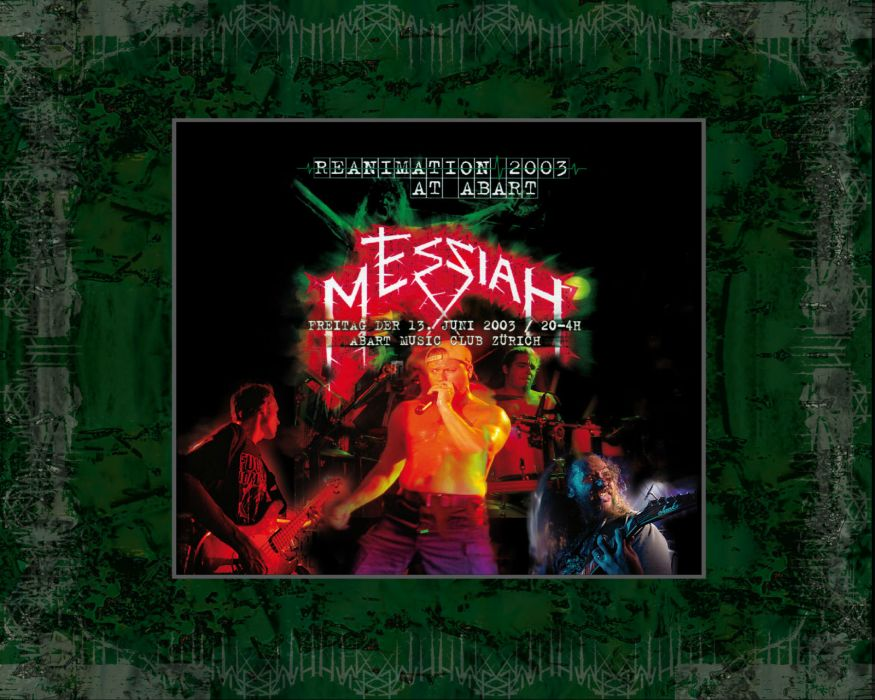 MESSIAH thrash death metal heavy poster posters wallpaper