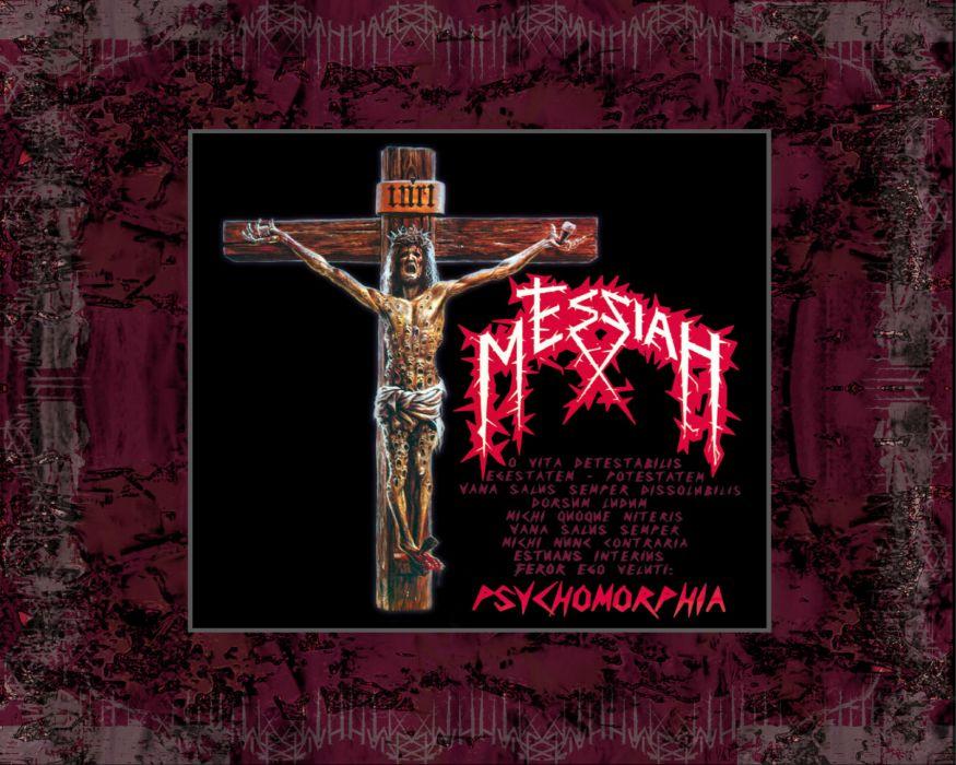 MESSIAH thrash death metal heavy wallpaper
