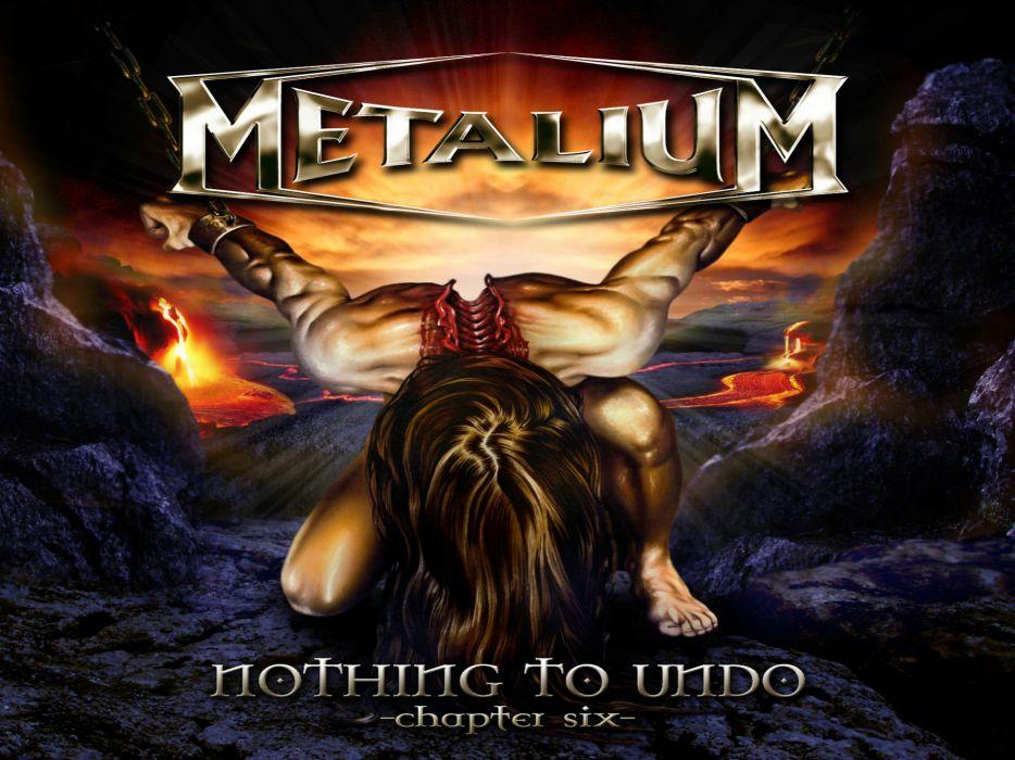 METALIUM heavy metal        f wallpaper
