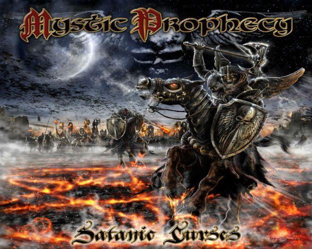 MYSTIC PROPHECY power metal heavy f wallpaper