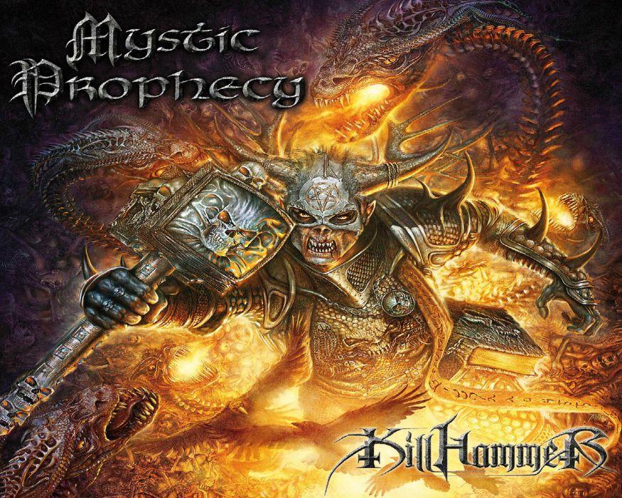 MYSTIC PROPHECY power metal heavy v wallpaper