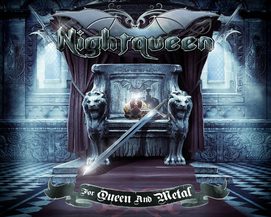 NIGHTQUEEN symphonic epic power metal heavy      f wallpaper