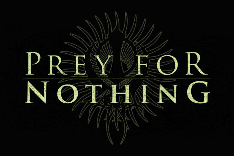 PRey FoR NoThINg Progressive Melodic Death Metal heavy logo wallpaper