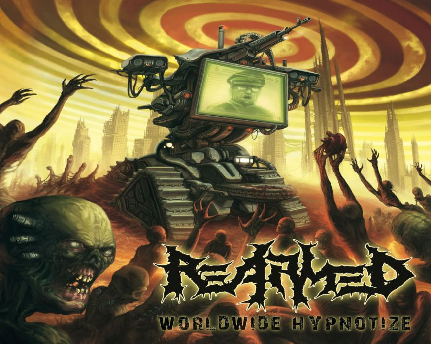 RE-ARMED thrash death metal heavy    g wallpaper