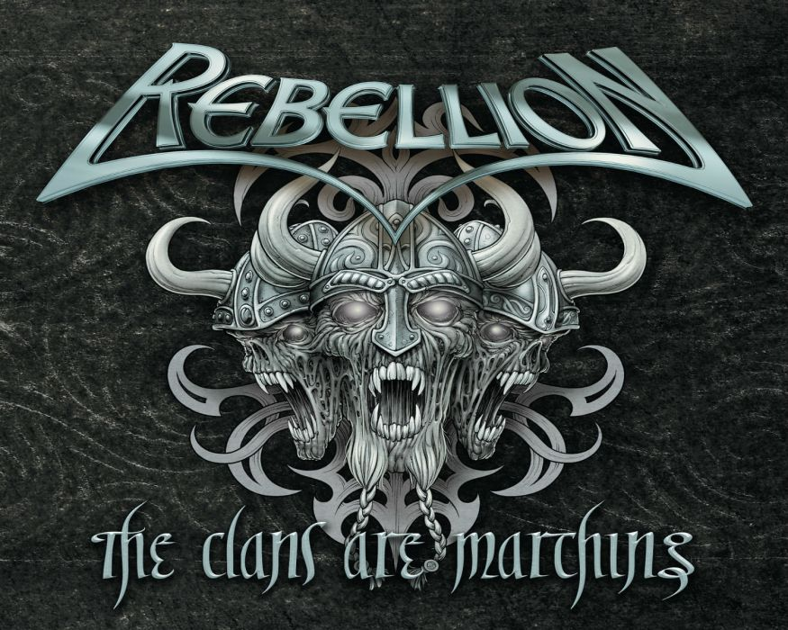 REBELLION heavy metal    h wallpaper