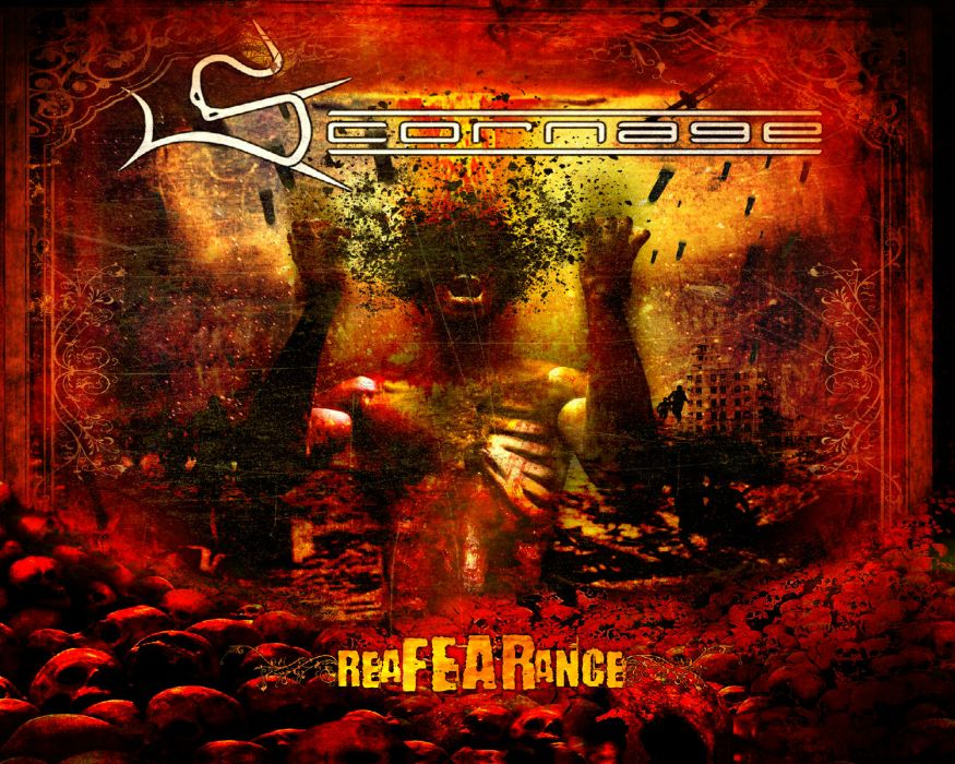 SCORNAGE thrash metal heavy        g wallpaper