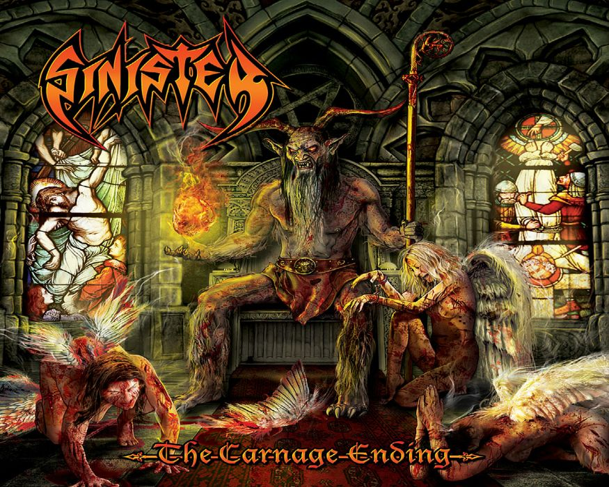 SINISTER death metal heavy     g wallpaper