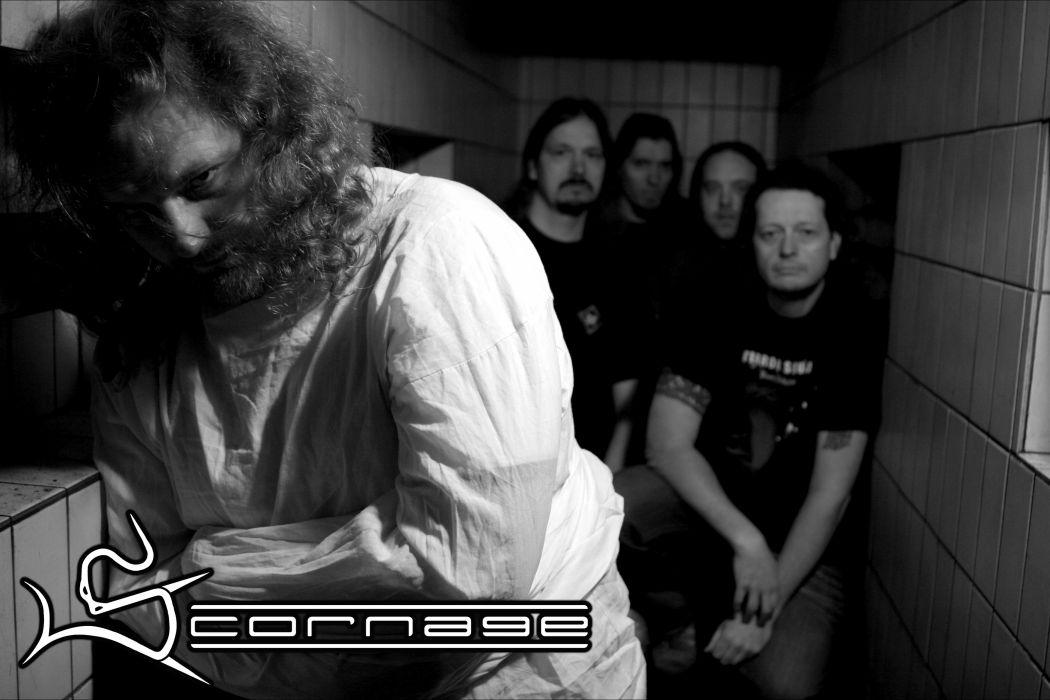 SCORNAGE thrash metal heavy    f wallpaper