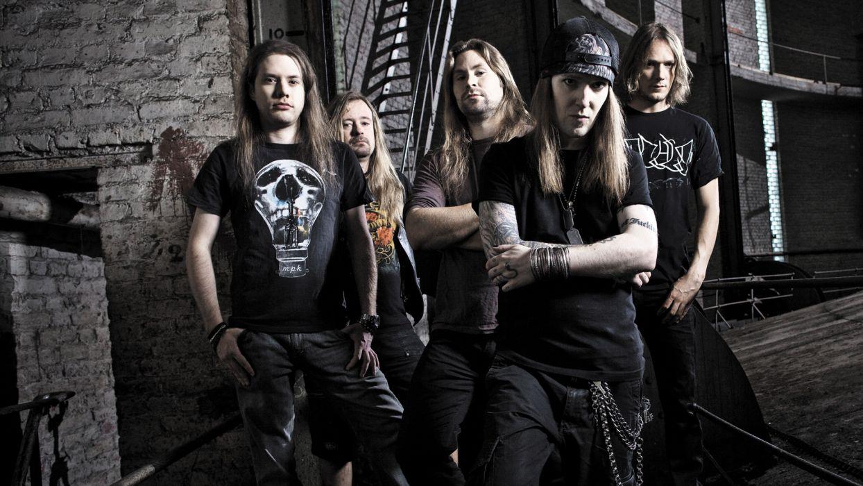 CHILDREN OF BODOM heavy metal      f wallpaper