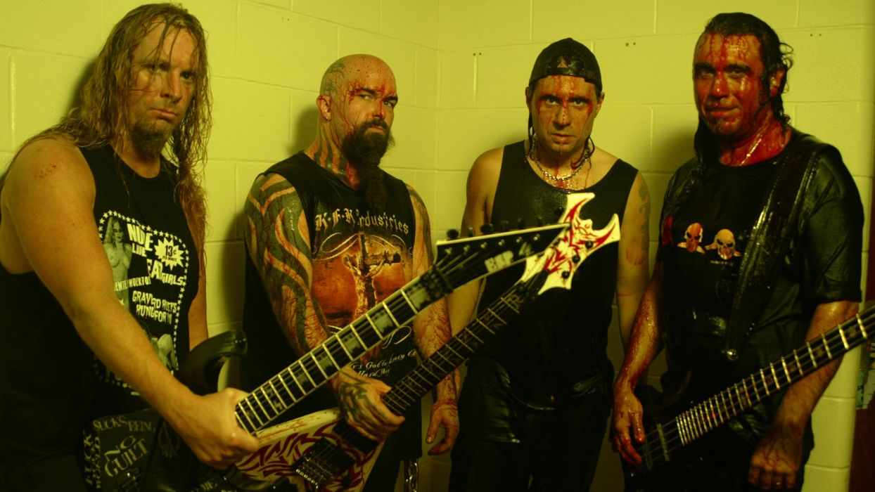 SLAYER death metal heavy guitar guitars wallpaper