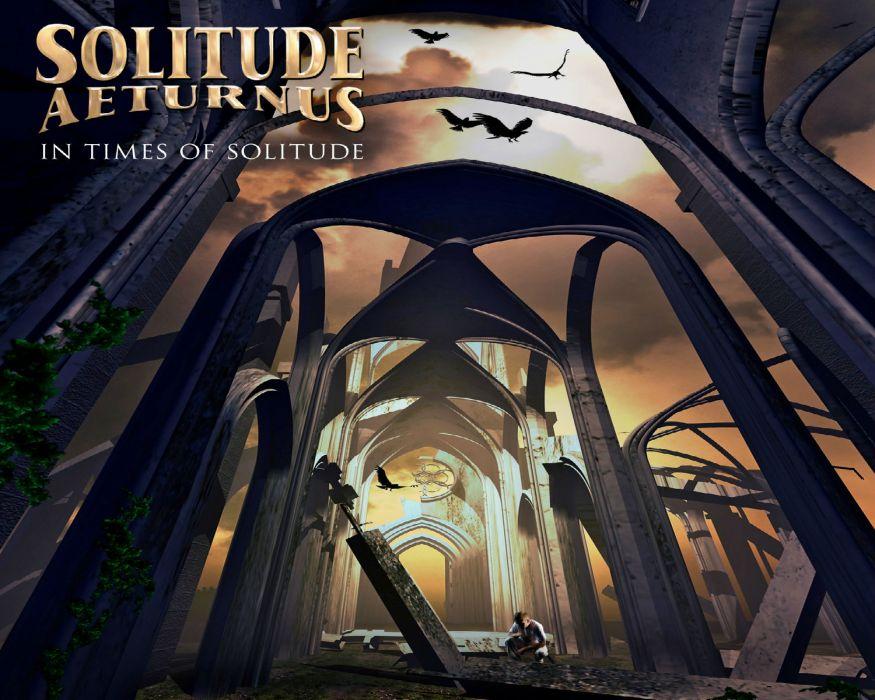 SOLITUDE AETURNUS doom power metal heavy  f wallpaper