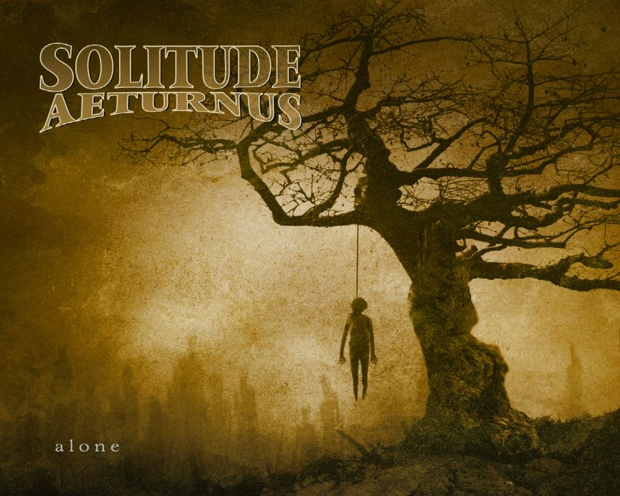 SOLITUDE AETURNUS doom power metal heavy wallpaper