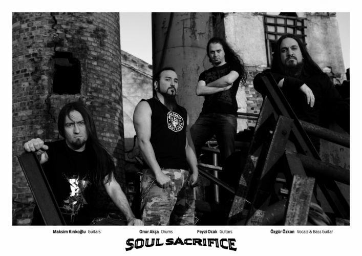 SOUL SACRIFICE death metal heavy wallpaper