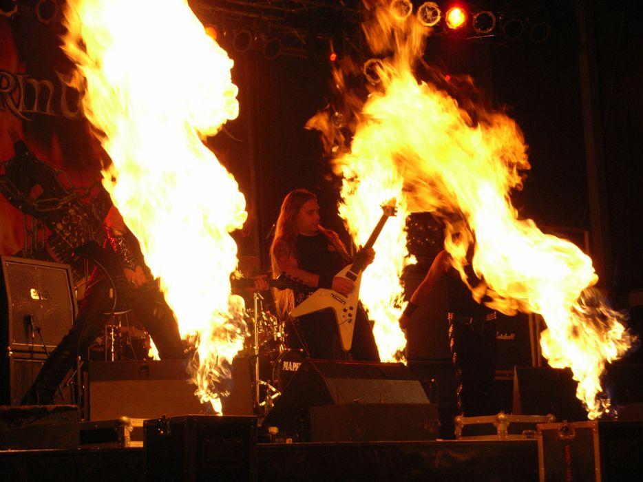 STORMWARRIOR heavy metal guitar guitars concert concerts wallpaper