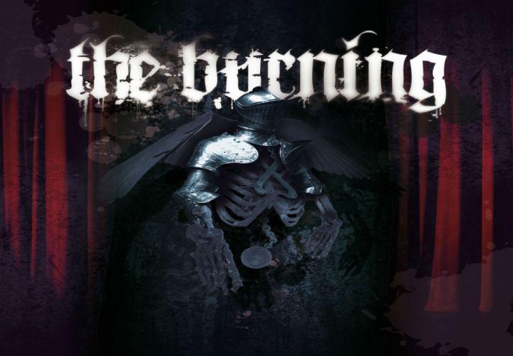 THE BURNING thrash-core heavy metal f wallpaper