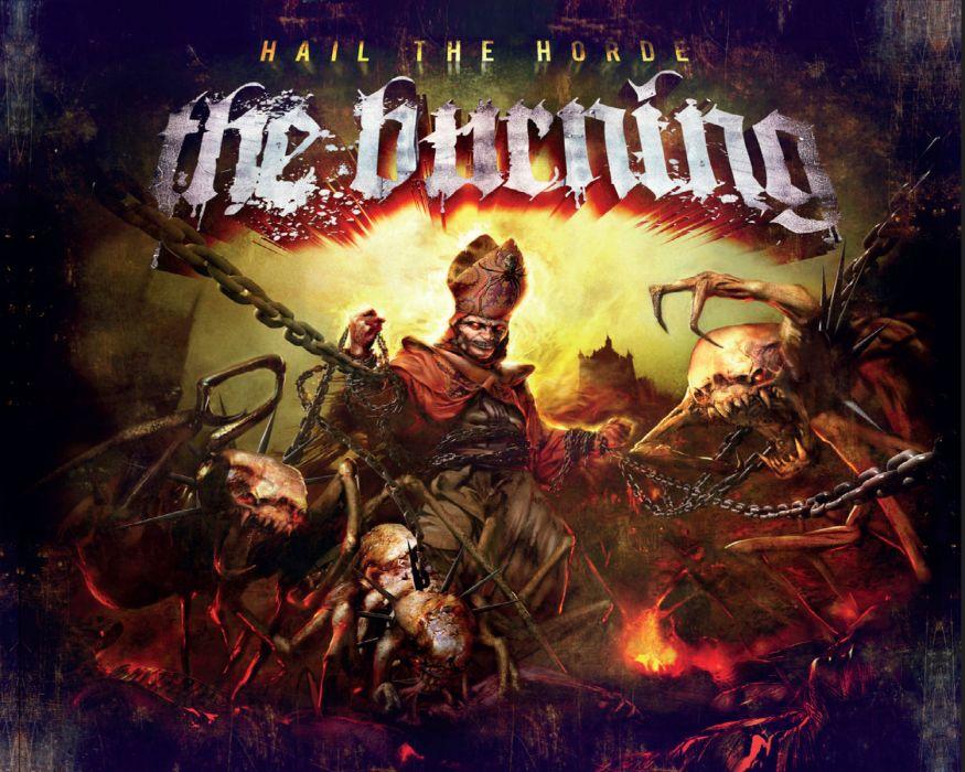THE BURNING thrash-core heavy metal      r wallpaper
