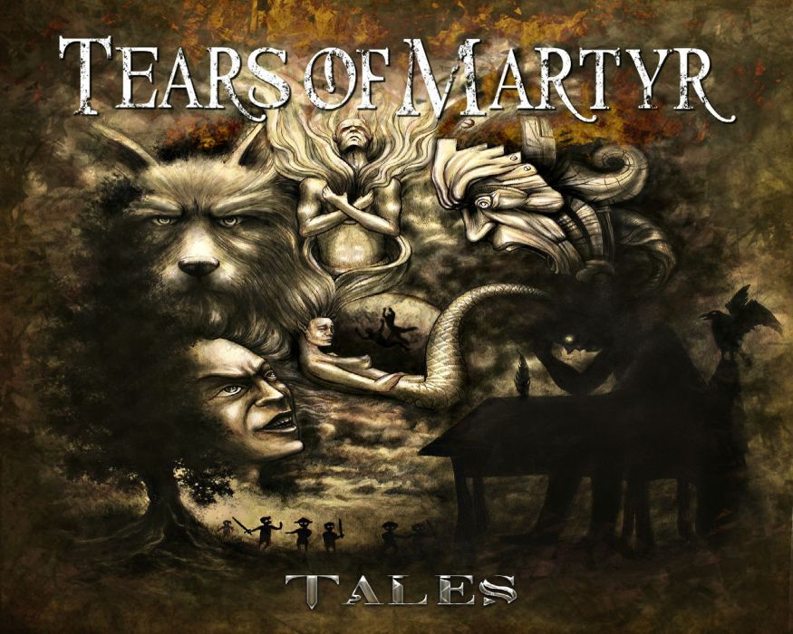 TEARS OF MARTYR symphonic gothic metal heavy wallpaper