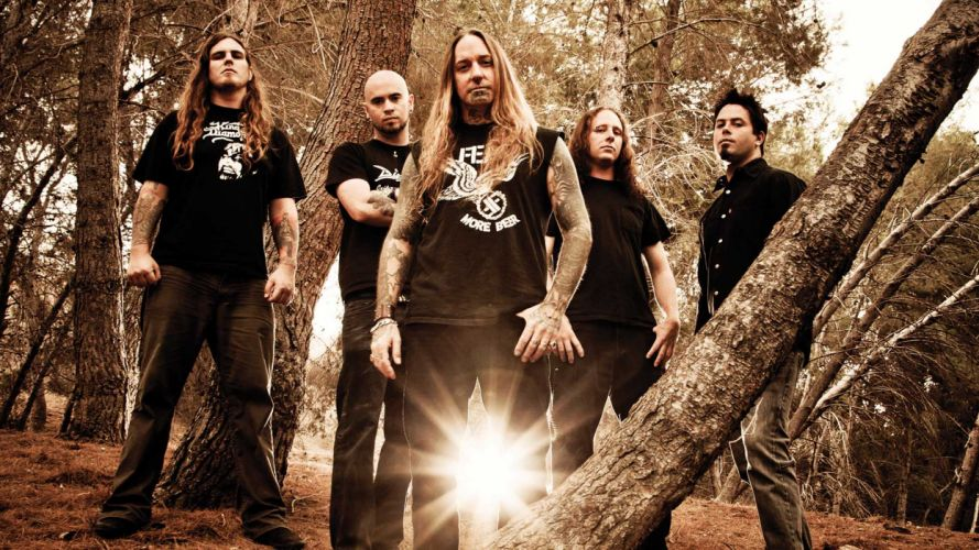 DEVILDRIVER melodic death metal heavy ge wallpaper