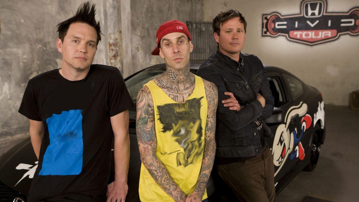 BLINK-182 punk pop t wallpaper