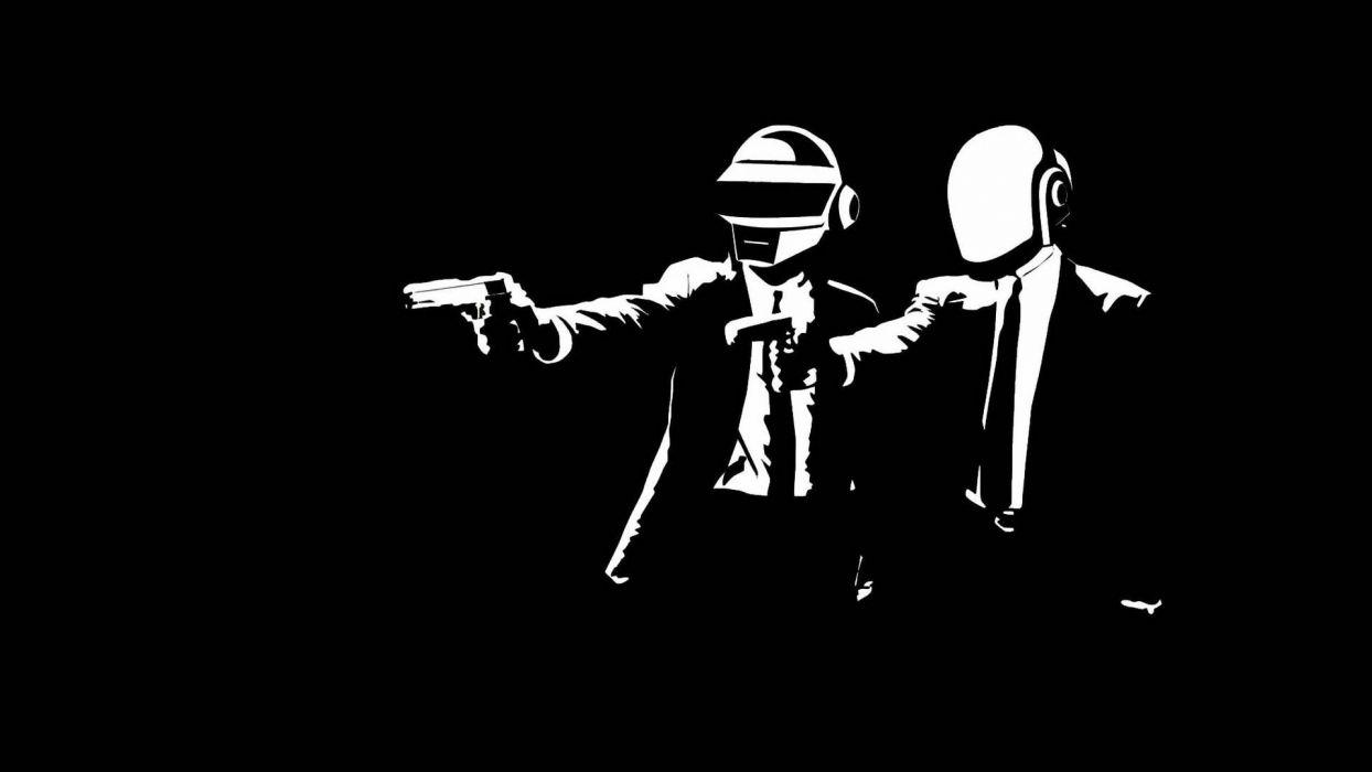 Daft Punk house electronic wallpaper