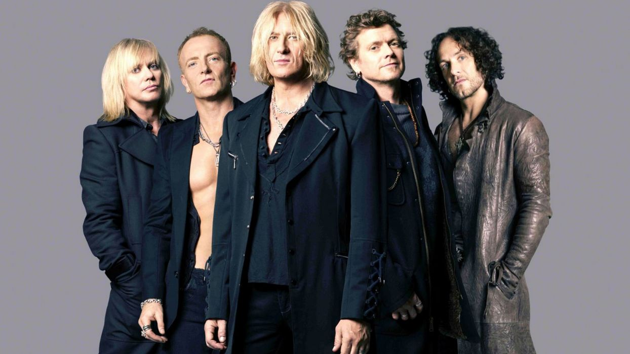 DEF LEPPARD hair metal heavy hard rock  t wallpaper