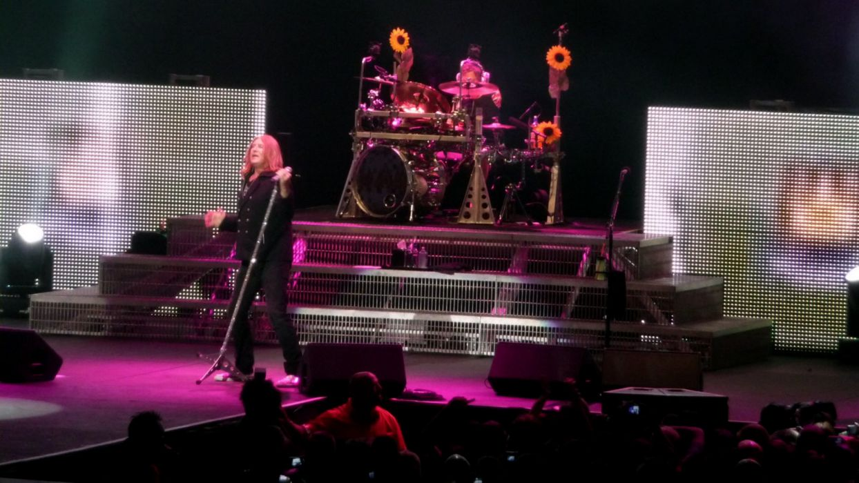DEF LEPPARD hair metal heavy hard rock concert concerts microphone wallpaper