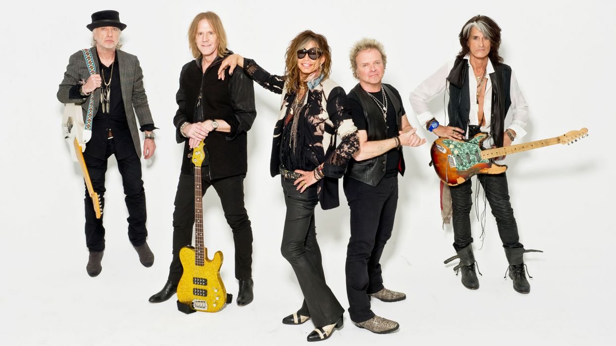 AEROSMITH hard rock heavy metal guitar guitars wallpaper