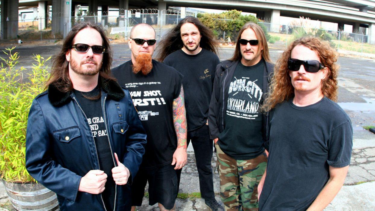 EXODUS thrash metal heavy wallpaper