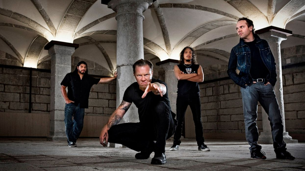 METALLICA thrash metal heavy wallpaper